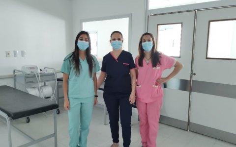 Kinesiología ya funciona en el nuevo edificio del Hospital Centenario
