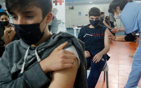 Comienza la vacunación contra el Covid-19 a niños y niñas de todo el país