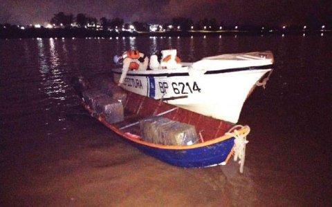 Intentaban cruzar 3 millones de pesos en medicamentos y ropa por el río Uruguay