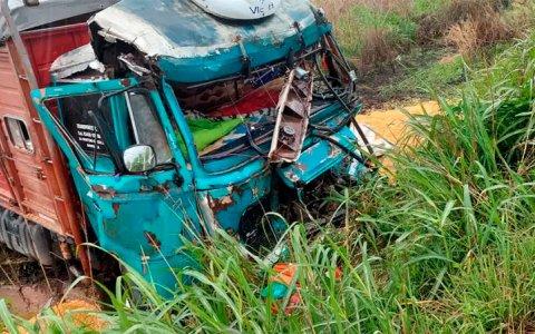 Entrerriano falleció tras choque múltiple de camiones