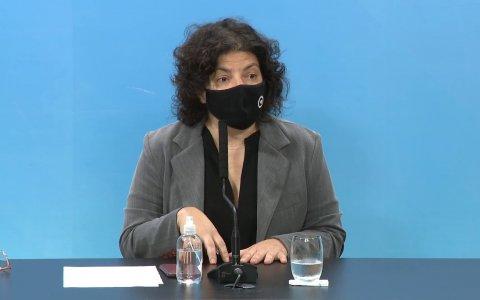 Carla Vizzotti aseguró que el 2022 será el año de las terceras dosis
