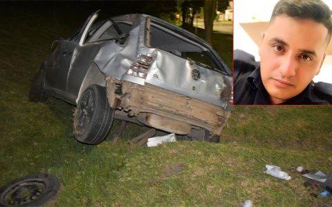 Falleció joven policía que había sufrido un accidente