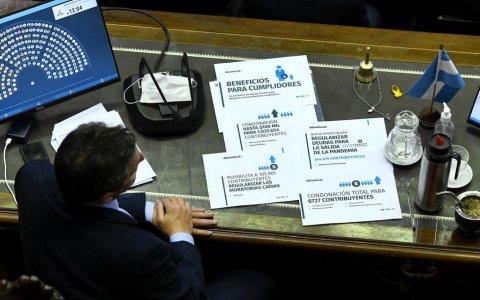 La ley de alivio fiscal tuvo media sanción en Diputados