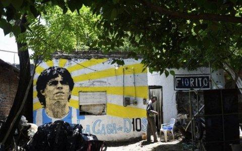 """La casa natal de Maradona, declarada """"lugar histórico nacional"""""""