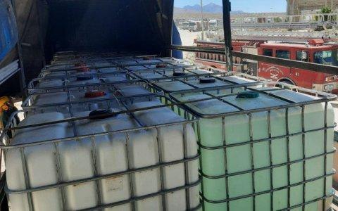 Gendarmería Gualeguaychú secuestró 800 litros de precursores químicos
